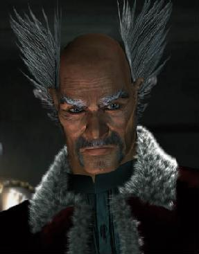 mishima heihachi heart of the shadow